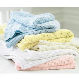 【紫貝殼】『GCH12』英國進口 mothercare 洞洞毯.小棉毯 70*90cm 100%純棉【百貨專櫃正品●品質有保證●非水貨】