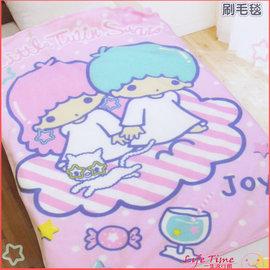 雙子星毯子 被子 三麗鷗KIKILALA享樂 毯被 棉被 MIT B16678