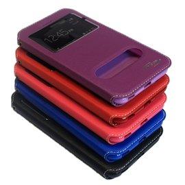 HTC ONE M8雙視窗側翻皮套