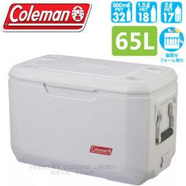 【美國 Coleman】Xtreme 海洋白五日鮮冰箱 65L.高效能行動冰箱.保冷保冰箱.冰筒.冰桶.置物箱.保鮮桶 CM-2644