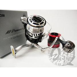 ◎百有釣具◎RYOBI AP. Power EX 8000 頂級全鋁合金屬海釣遠投 雙線杯捲線器8000型~日系商品中最超值選擇