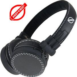 ~AndyMay2~AM~803 M100折疊式耳機麥克風~皮質~ 黑