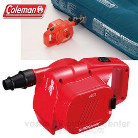 【美國Coleman】QUICKPUMP高功率電池幫浦.充氣馬達.充氣幫浦.充氣床馬達/充氣排氣均可/CM21937