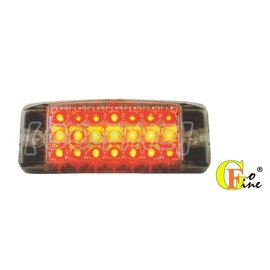 GO~FINE 夠好 台製21led燈12v 24v側標燈 統聯型白殼紅黃紅led側燈le