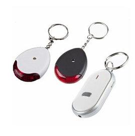 (創意禮物) 口哨鑰匙尋找器 發光聲控鑰匙扣 吹口哨找鑰匙 單入