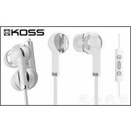 ~KOSS IL200W 耳道式耳機 iPhone線控耳機 3.5mm接口 支援sony
