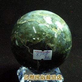 拉長石^~月光石^~圓球^~直徑約8.4cm