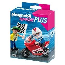德國Playmobil摩比^(4780^) SP系列摩拖車 賽車
