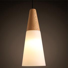 5Cgo ~ 七天交貨~ 43161700158 北歐簡約 錐形吊燈宜家餐廳臥室客廳吧台l
