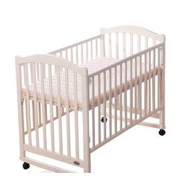 『GCH17-9』奇哥 Joie 典雅嬰兒大床-珍珠白(附軟床墊 ) (128x72x105公分)【奇哥正品】