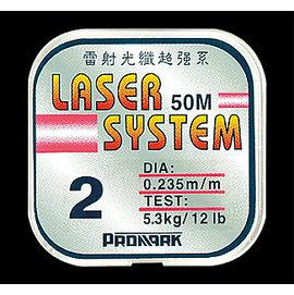 ◎百有釣具◎太平洋POKEE 雷射光纖超強系 尼龍線 50M 規格:0.07~6.0 原價360 特價199