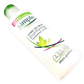 價  英國SIMPLE臉部淨化與清潔 乳液200ml  Cleansing lotio