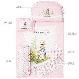 『GCH18-3』奇哥 Joie Peter Rabbit  粉彩比得兔6件床組 (M-粉紅) 日本SEK抗菌防螨處理【奇哥正品】