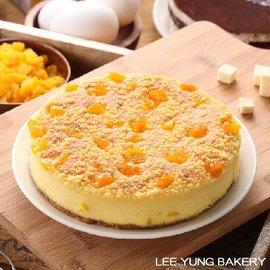 ~里洋烘培坊~芒果重乳酪Siraya Mango Cheese Cake 6吋蛋糕 香濃口