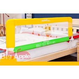 【紫貝殼】『LA32』《蔓葆安全防護欄》床護檔 床欄 床護欄 嬰兒床圍(長頸鹿)(長180分*高63公分崁入式) 適用平面床/掀床/有床框床架