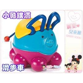 麗嬰兒童玩具館~小豬嘟嘟撲滿 滑步車/學步車/助步車-多向滑輪-可當大撲滿
