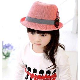 ~ 多色春 貼標太陽帽 男女寶寶兒童爵士帽子
