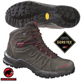 【瑞士 MAMMUT 長毛象】男新款 Mercury Mid II Gore Tex 防水透氣多功能中筒健行登山鞋(得獎鞋).休閒運動鞋/Vibram大底/04310-0846 褐灰