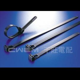 ~和旺電配~CWHV~200 BK  活用式 紮線帶 束帶 束線帶 可重複 203x7.6