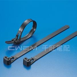 ~和旺電配~CWHVC~200^(BK^) 活用式 紮線帶 束帶 束線帶 可重複 203x
