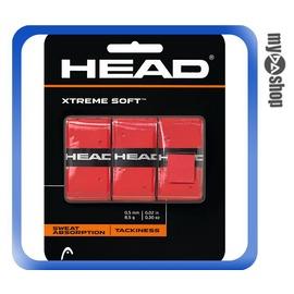 ~DA量販店~HEAD XtremeSoft 網球 球拍 握把布 紅色^(W92~0037