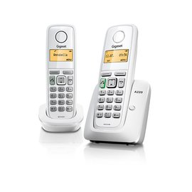 ◤現貨不必等↑↓快速到貨◢ SIEMENS 西門子-Gigaset ECO DECT 數位雙子機數位無線電話 A220 Duo **可刷卡!免運費**