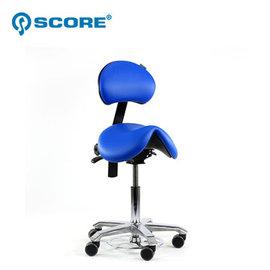 原 33300↘ 78折荷蘭Score 醫療級馬鞍椅~大坐墊有背~活力藍