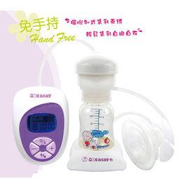 朴蜜兒魔力花瓣自由機電動吸器 免手持輕鬆吸乳不費力 贈專利多 哺乳圍裙