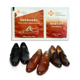 TWMST 皮鞋防黴保養濕巾 SKG 鋅離子擦手巾 SKG 鋅離子 10 包入