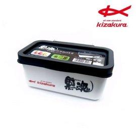 ◎百有釣具◎ KIZAKURA  黒魂エサBOX II 黑魂南極蝦盒 誘餌盒