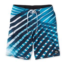 美國百分百~ ~Quiksilver 海灘褲 男 短褲 泳褲 沙灘褲 衝浪褲 白色 藍色