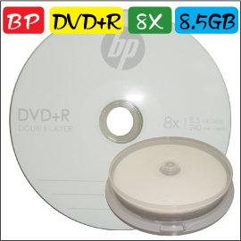 中環 A級bp DVD R DL 8X  8.5GB 空白燒錄片 可超燒 10片 ~XBO