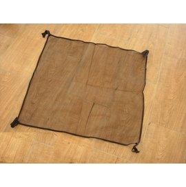 大林小草~【980H-1】980H 鋁合金桌-桌下置物網,黏扣帶設計可自行調節