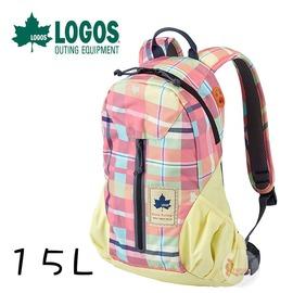 探險家戶外用品㊣NO.88250075 日本品牌LOGOS CADVEL-Design愛麗絲格紋背包15L 夢幻包雙肩背包登山遠足郊遊