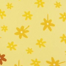 【紫貝殼】『OG15』【德國 Theraline 哺乳育嬰月亮枕枕套】孕婦側睡托腹枕/孕婦專用抱枕/餵乳枕(小黃花Yellow Flowers) 專用枕套