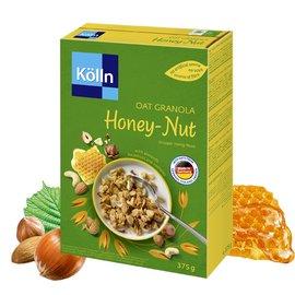 科隆 Kolln 燕麥脆穀片 蜂蜜堅果^(375G^)