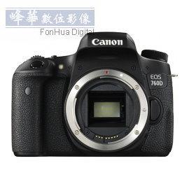 Canon EOS 760D BODY~6期0利率,10 31前登錄送收藏家CN~25防潮