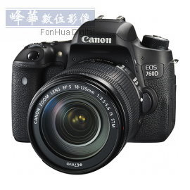 Canon EOS 760D  18~135mm STM Kit~6期0利率,10 31前