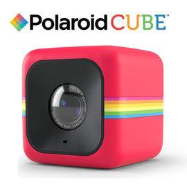 Polaroid POLC3R Cube HD 微型 行動  攝影機 Video Red