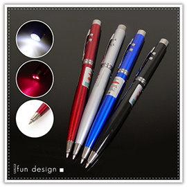 【winshop】A2388 三合一紅外線筆-裸裝/LED燈/雷射筆/原珠筆/激光筆/指星筆/客製化贈品禮品