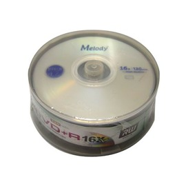 MELODY DVD R 4.7GB 16X 25入布丁桶