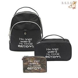 ~147 Bag Shop~~ Rebecca Bonbon ~ 狗頭 壓印~蓋扣拉鍊2W