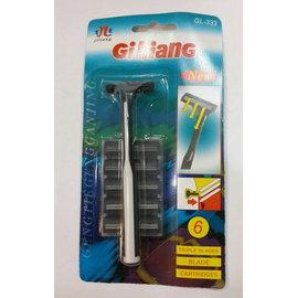 GiLiang 刮鬍刀 (附5刀頭)