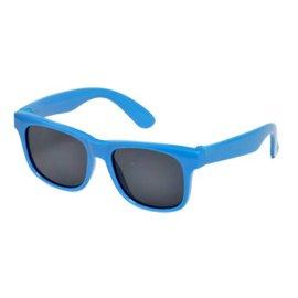 【紫貝殼】『RKS01』RKS經典純色4-7歲太陽眼鏡/藍色 RKS4-01302 (UV400鏡片,可完全過濾UVA和UVB兩種紫外線)
