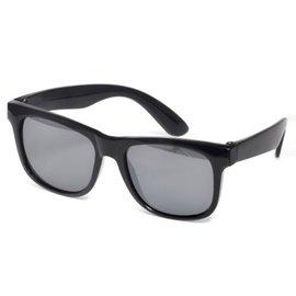 【紫貝殼】『RKS01』RKS經典純色4-7歲太陽眼鏡/黑色 RKS4-01301 (UV400鏡片,可完全過濾UVA和UVB兩種紫外線)