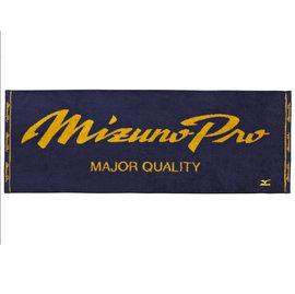 美津濃 MIZUNO PRO 日本製 原裝進口 運動毛巾-深藍 (12JY5X5014)