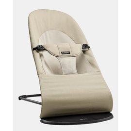 【紫貝殼】『GCH25-3』BabyBjorn Bouncer Balance Soft 柔軟彈彈椅-卡其【彈椅自然擺動不需使用電池/符合人體工學】【正品】