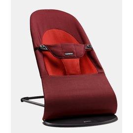 【紫貝殼】『GCH25-5』BabyBjorn Bouncer Balance Soft 柔軟彈彈椅-紅橘 【彈椅自然擺動不需使用電池/符合人體工學】【正品】
