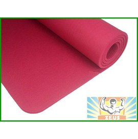 加厚瑜珈墊10mm (桃紅)(1公分瑜伽墊/NBR/超厚/台灣製造/止滑/防滑瑜珈墊/運動墊/附背袋)