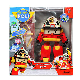 恰得玩具 10吋變形羅伊 ROBOCAR POLI 波力 救援小英雄 變形RB83284